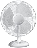 Havells Swing LX 400mm Table Fan (White)