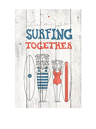 Really Nice Things Holztafel Surfing Together