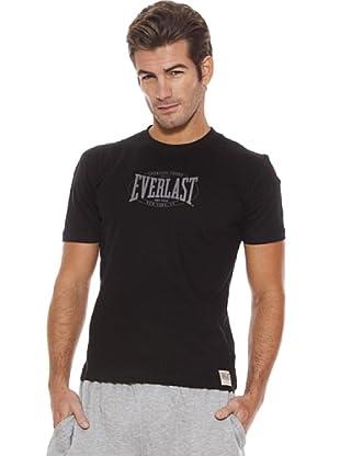 Everlast Camiseta Torrell (Negro / Gris)