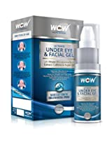 WOW ULTIMATE UNDER EYE & FACIAL GEL ★ Dark Circles, Puffiness & Bags ★ 100% Natural Actives Gel ★ For Men & Women (PACK OF 1)