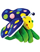 Hape Hand Glove Puppet Butterfly, Multi Color