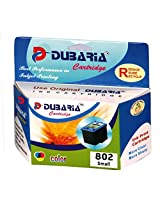 Dubaria 802 Colour Ink Cartridge Compatible For HP 802 Tricolour