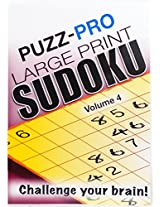 Puzz-Pro Large Print Sudoku Puzzle Book