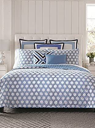 Happy Chic by Jonathan Adler Honeycomb Reversible Quilt Set