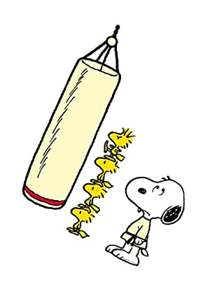 Beiwanda Kids Wandtattoo Snoopy und Woodstock - Karatekids