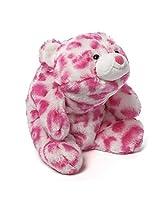 Gund Baby Snuffles Stuffed Bear, Pink Leopard By Gund
