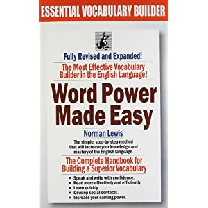 Word Power Made Easy and 30 Days to More Powerful Vocabulary (Set of 2 Books)