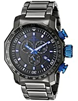 Oniss Paris Men's ON613N-MTT BOLD G-2 COLLECTION Analog Display Swiss Quartz Black Watch