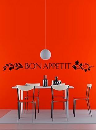 Vinilo Adhesivo Bon Appetit Negro