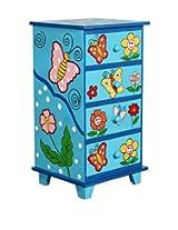 Obuasi Kids Storage Furniture in Multi-Colour Finish with Mudramark