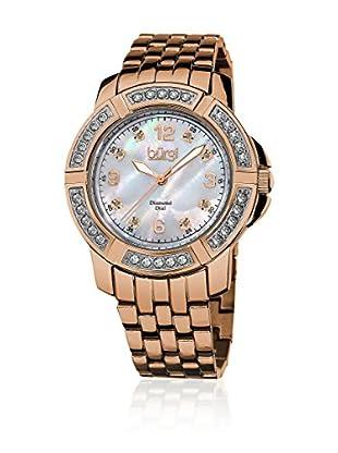 Bürgi Uhr mit Schweizer Quarzuhrwerk BUR069RG rosé 37  mm