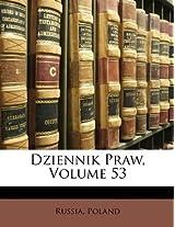 Dziennik Praw, Volume 53