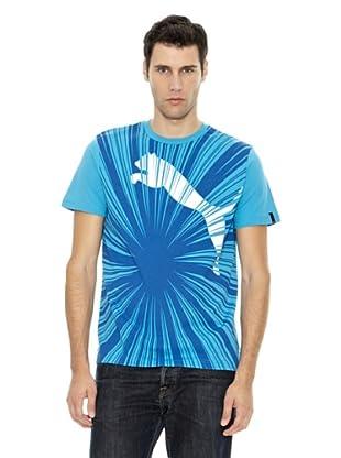 Puma Camiseta Burst (Azul)