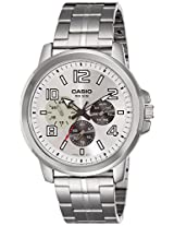 Casio Enticer Men's Analog Silver Dial Men's Watch - MTP-X300D-7AVDF(A1060)