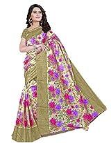 Bhavi Creations Presents Printed Art Silk Saree