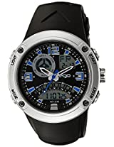 Maxima Ego Analogue-Digital Black Dial Men's Watch - 31700PPAN