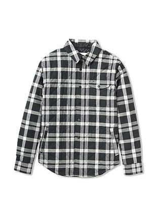 Burton Camisa Franela Bellow (Negro / Blanco)