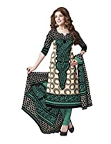 Suhanee Womens Cotton Unstitched Dress Material (Suhanee`S Exclusive Snehaa 1071 _Multi-Coloured)