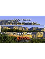 Train Junkies Southwest Railroad Backdrop O Scale