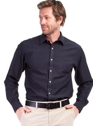 Cortefiel Camisa Lisa (negro)