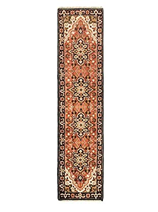 Hand-Knotted Royal Heriz Wool Rug, Dark Copper, 2' 6