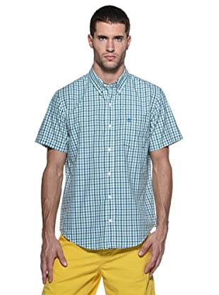 Timberland Camisa Pelham (Verde/Turquesa)