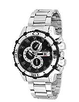 Dezine DZ-GR1516-BLK-CH analog watch
