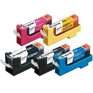 【クリックで詳細表示】プレジール CANON BCI-321+320 5MP対応 5色パック PLE-CA320+3215P: パソコン・周辺機器