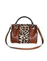 Mia Bossi Tabitha Diaper Bag, Leopard