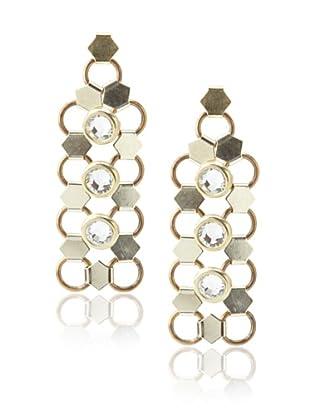 Lionette Designs by Noa Sade Gold Taylor Mesh Drop Earrings