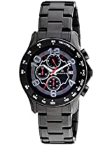 Maxima Chronograph Black Dial Men's Watch - 32531CMGB