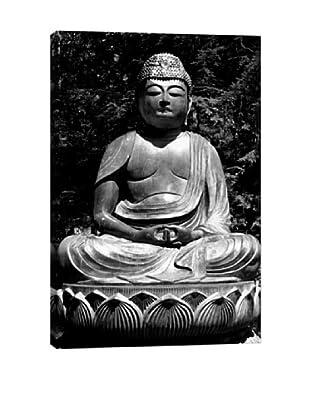 Asian Buddha Statue Giclée Canvas Print