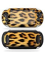 Protective Vinyl Skin Decal Cover for PS Vita PSVITA Playstation Vita Portable Sticker Skins Cheetah