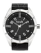 FCUK Analog Black Dial Women's Watch - FC1084SB