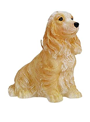 D.L. & Co. Cocker Spaniel Hand-Painted Candle