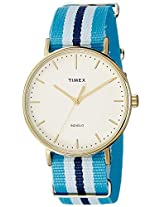 Timex Analog White Dial Unisex Watch - TW2P91000AA
