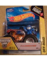monster jam 2014 Illuminator with monster jam figure