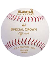 USI Special Crown Softball, 12in (White)