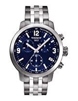 Tissot Men's T055.417.11.047.00 T-Sport PRC200 Blue Dial Watch