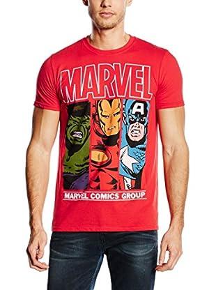 Marvel Camiseta Manga Corta Heroes