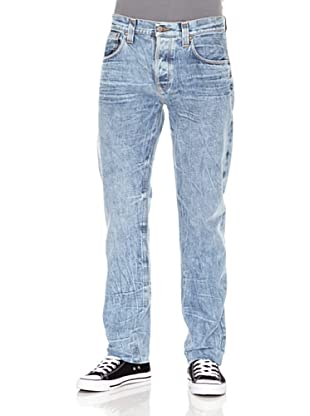 Nudie Jeans Pantalón Sharp Bengt (Azul claro)