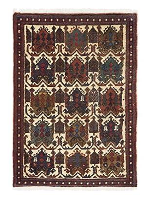 Darya Rugs Authentic Persian Rug, Multi, 3' x 5'