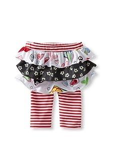 Baby Nay Legging with Overlay Skirt (Crayon Heart)