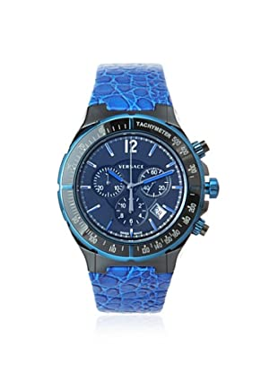 Versace Men's 28CCB8D082 S282 DV Black/Blue Tachymeter Watch