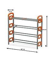 Lowprice Online Nilkamal 12 Pair Stackable Shoe Rack Storage 4 Layer