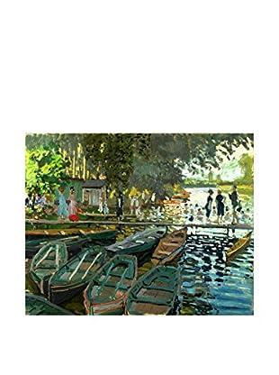 Legendarte Lienzo Claude Monet - Bagnanti Alla Grenouillère