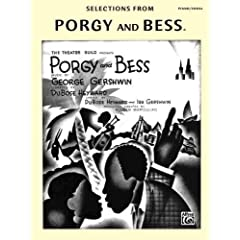 Selections from Porgy and Bess: Piano/Vocal