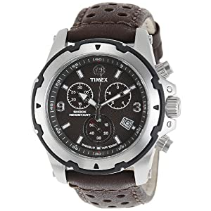 Timex Expedition Chronograph Brown Dial Men's Watch - T49627
