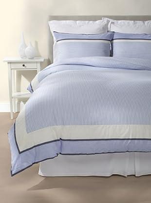 Tommy Hilfiger TH Stripe Duvet Cover Set (Blue)