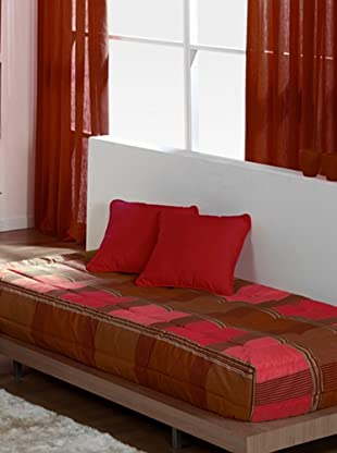 REIG MARTI Edredón Ajustable (Rojo)